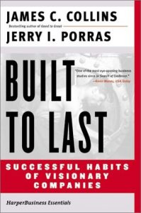 Inspiratie: Built to last - Jim Collins & Jerry Porras
