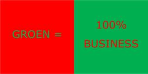Groen is 100% business